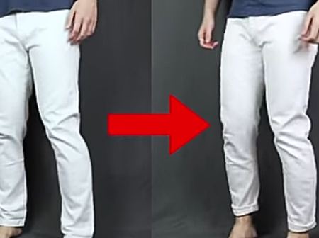 How To Slim Fit Your Pants Without A Sewing Machine