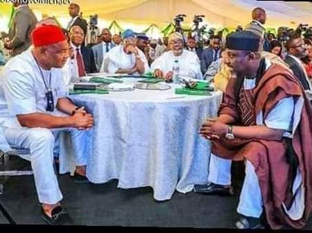 Hope Uzodinma Hits Rochas Okorocha where is hurts