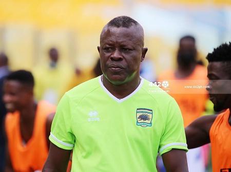Asante Kotoko Assistant Coach Johnson Smith Blames Techiman Pitch For Draw