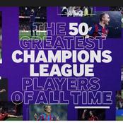 Ranked: Top Five Best Footballers In UEFA Champions League History