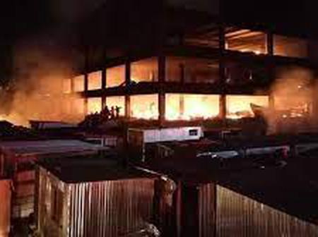Fire claims lives of nine people and an infant in Johannesburg