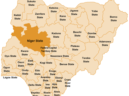 Top 6 largest states in Nigeria in terms of land mass