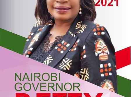 Why KANU Nominee Betty Adera will be the next Nairobi Governor if elections are held in Feb 2021