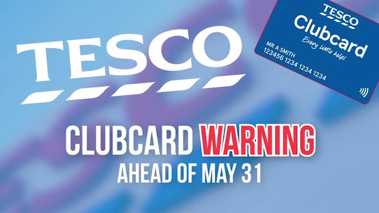 Warning to Tesco shoppers as major Clubcard change is set to affect 19million customers