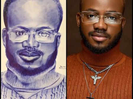 Brodashaggi, Waje and others react after Korede Bello shared the photo that an artist drew for him