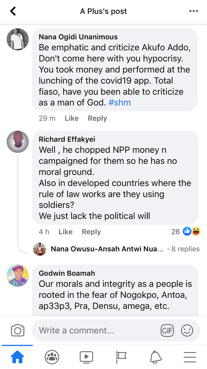 """90a573fb8ddf4b279aab585adc181199?quality=uhq&resize=720 - """"Hypocrite"""" - Ghanaians Fumes After Great Ampong Suggest Military Should Take Over Ghana"""