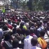 DP Ruto Receives A Heroic Welcome In Nandi County, Brings Nandi To A Standstill