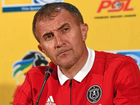 SEE: Former Orlando Pirates Coach granted bail of R10 000.
