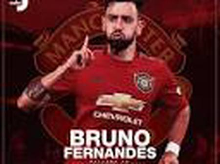 Bruno Fernandes Sets New Record After Being Nominated as Player of the Month for the Fourth Time