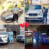 Between E-money and Mompha: Who has the best car collection?