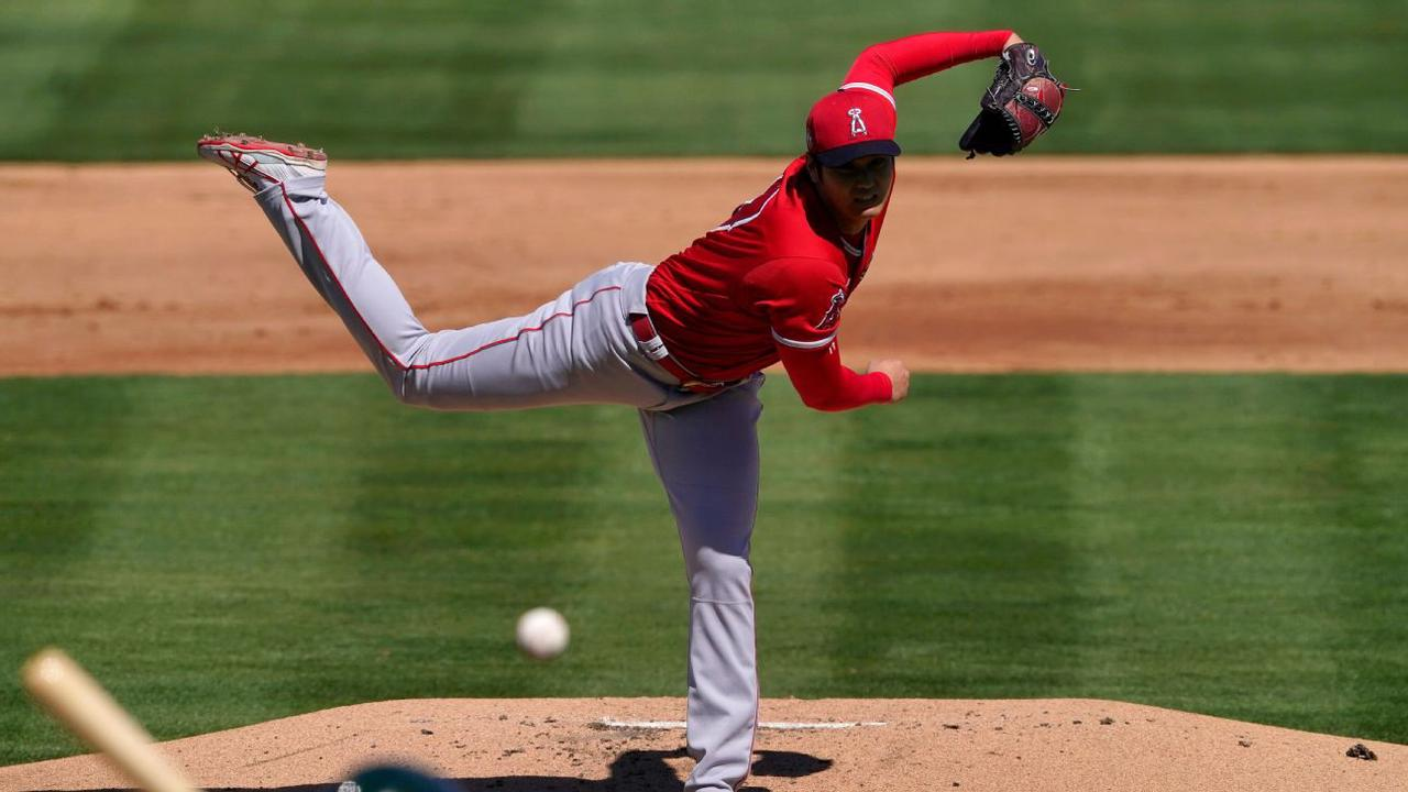 Home Gym - Shohei Ohtani delivers on mound in spring debut for Los Angeles Angels