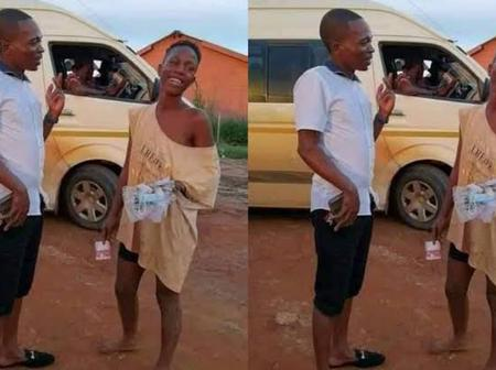 Reactions As South African Man Set To Marry Homeless Girl He Met On The Street (Photos)