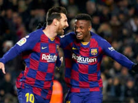 Two admirable attackers reportedly set to start for Barcelona against sevilla