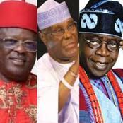 With This Analysis, If Umahi, Atiku & Tinubu Vie For Buhari's Seat In 2023, Whom Will You Vote?