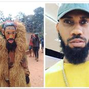 Phyno is a Living legend, See what some Igbo youths did with his picture at Umunnanchi