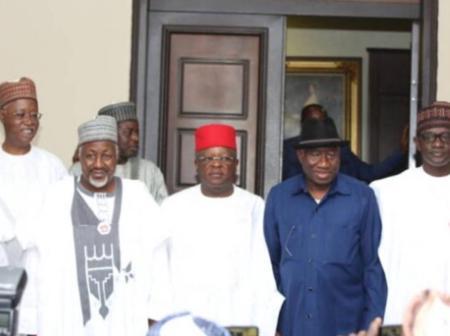 2023: Fani-Kayode mocks APC governors for visiting Jonathan [PHOTOS]