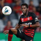 Bruce Kamau Scores Against Adelaide United in Australian A-League Today