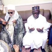 Governor Buni pays a visit to Sheikh Dahiru at his Residence in Bauchi [Photos]