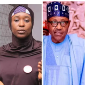See How Aisha Replied A Journalist Who Told Her To Commend Buhari For Rescuing Abducted Girls