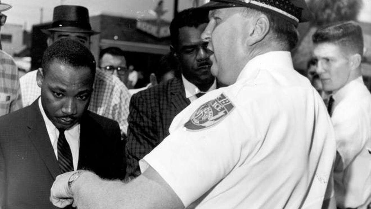 Cops clash with 20 protesters in Albany as they move in to clear out encampment of people who wanted to 'draw attention to police brutality'