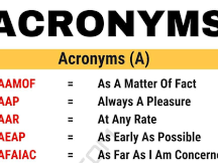 35 Short Abbreviations You Might Not Know And Their Meanings (LOL, OMG, AMA, TGIF, CU, NVM).