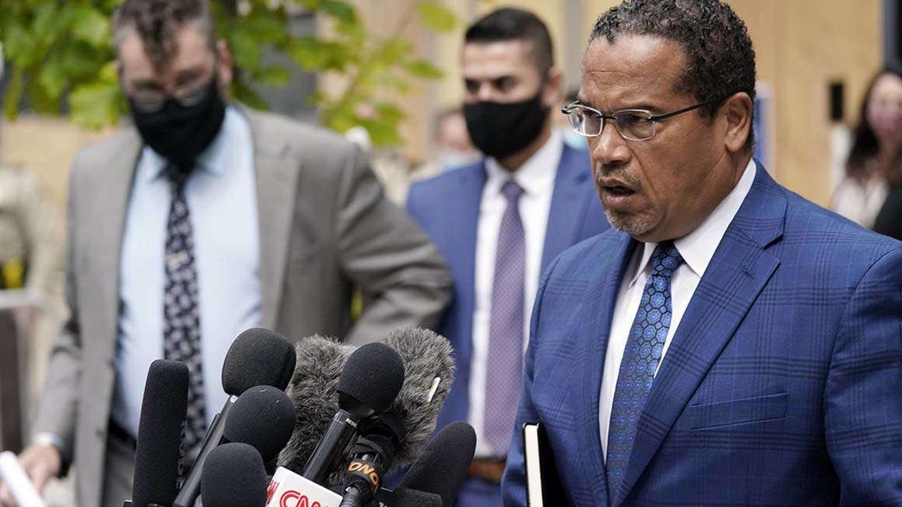 Progressives swoon over Ellison role in Chauvin trial