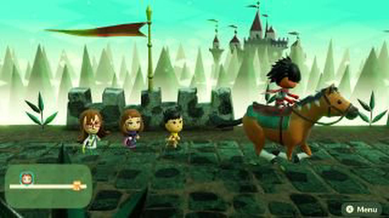 Miitopia trailer shows off character creator and battle system
