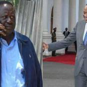 Details Of President Uhuru's Phone Call To Raila That Calmed Raila