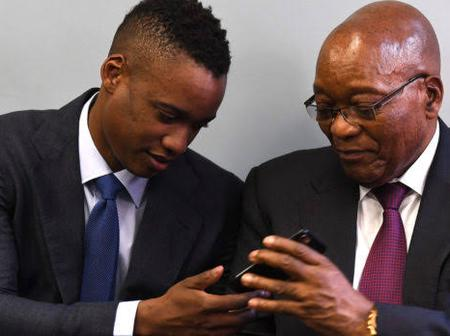 Duduzane has answered the ConCourt on behalf of his father: We are ready for war whenever you are