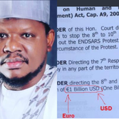 """""""You don mess Up"""", after Adamu Garba sued Jack $1b, see what fans noticed in the documents."""