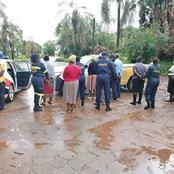 See How SA Citizens Respond To The Arrest Of This Woman By The Hawks At SASSA Tzaneen