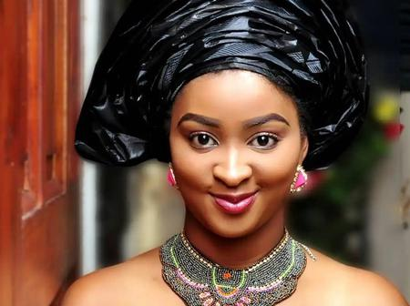 Lovely Pictures of Etinosa Idemudia in Traditional Attires