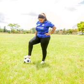 Rev Lucy Natasha Shows Her Football Skills In 15 Interesting Photos - Check Them Out
