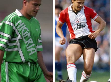 Foreign born Nigerian Footballers