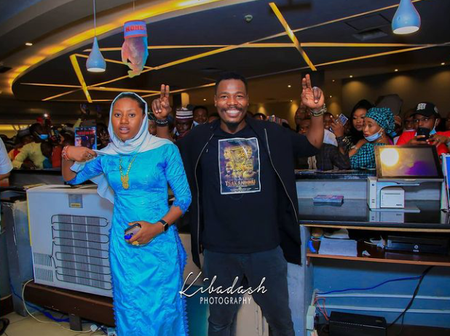 Many Celebrities Were Present At The Premierer Of The Kannywood Movie Titled