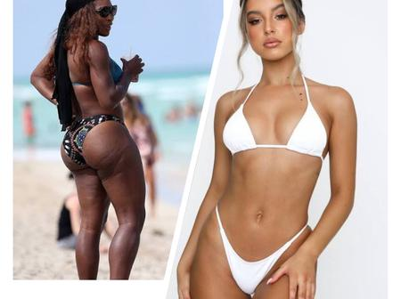 Between Serena Williams And Ariana Grande, Who Slays Better On Bikini outfit? (Photos)
