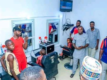 Kogi Governor Donates Barbing Salon Worth N2.5m To Shehu Jibril