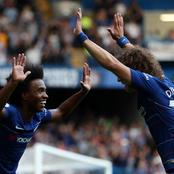 David Luiz and Willian repeat history in Arsenal 3-1 comeback win over 3rd place Leicester City