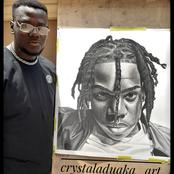 Rema Gifts A Man 200k Token After He Spent Over 100 Hours Doing His Portrait