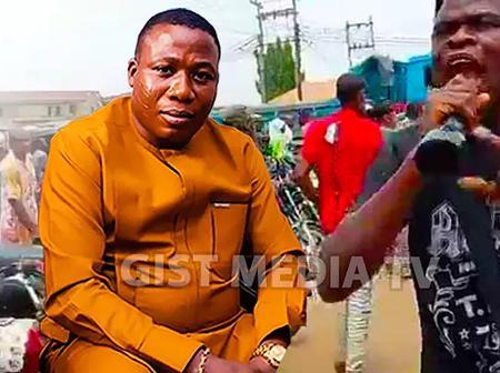 Video:Yoruba Nation Team Storm Aleshinloye Market In Ibadan As Yoruba Nation Awareness Continues