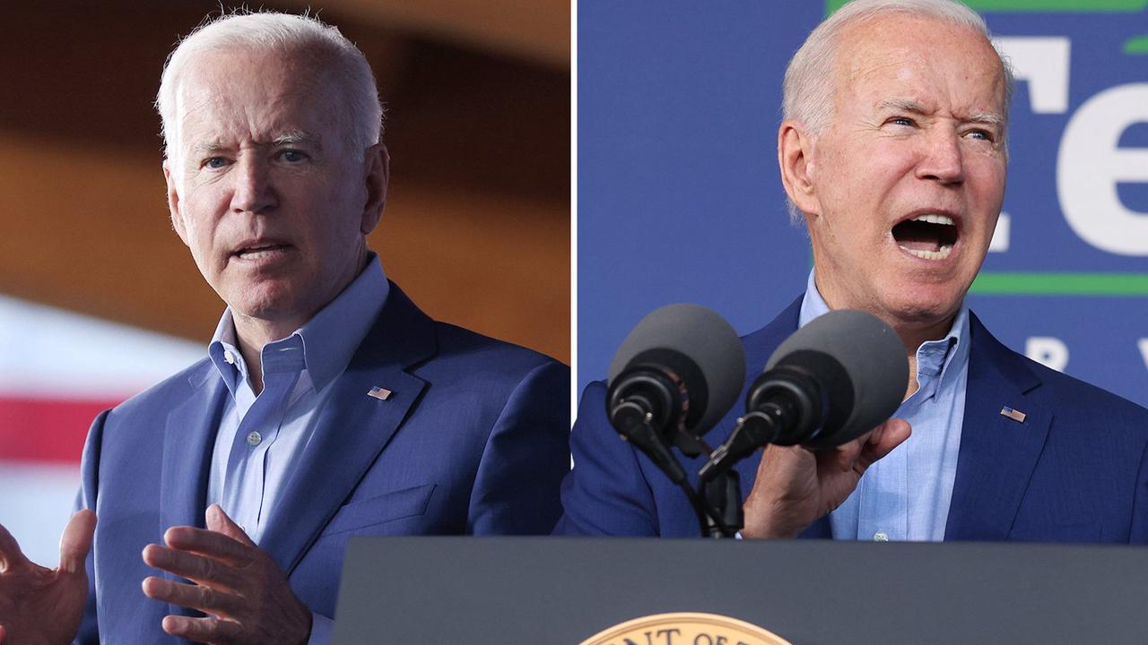 Biden HECKLED at rally as he boasts of 'whipping Trump' in election