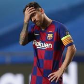 Lionel Messi inconsolable après l'annonce du décès de Maradona