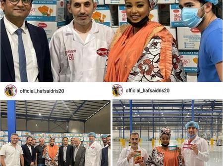 Photos: Kannywood Stars Congratulate Hafsat Barauniya On Her Ambassadorial Appointment.