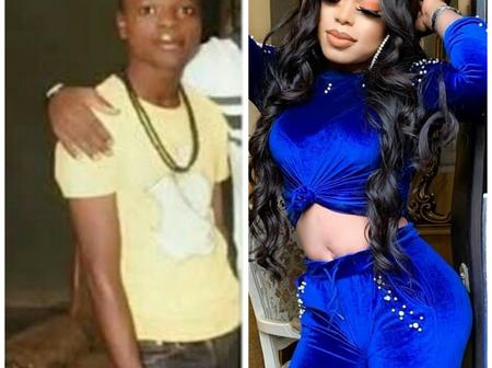 See Throwback Pictures Of Bobrisky