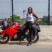 Meet The Female Biker who Covered 1000KM in One Day, See How Many States She Passed