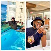 Take A Look At How Happy Mohale Has Been After The News That He & Somizi Have Trouble in Paradise.