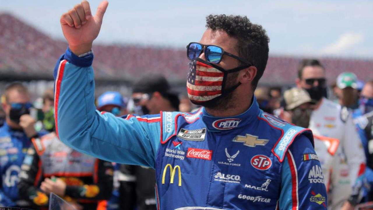 Bubba Wallace Reacts to Bills RB Antonio Williams' New Statement Video About NASCAR