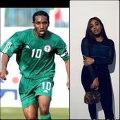 JayJay Okocha Must Be A Happy Man Seeing How Beautiful His Daughter is. See Photos