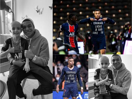 So Sad: 7 Days After Mbappe Dedicated His Goal To Him, 8-Years-Old PSG Fan Dies Of Cancer