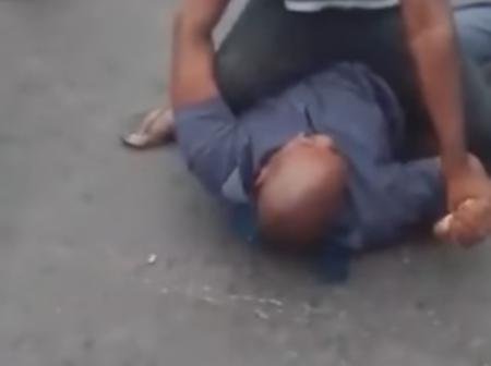 WATCH: Bully Police Officer Thoroughly Beaten by Taxi Driver!!